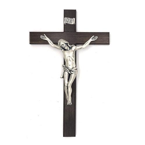 Crocifisso in legno scuro