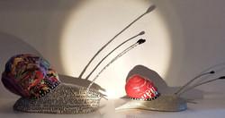 Escargots en papier Camille Jacobs