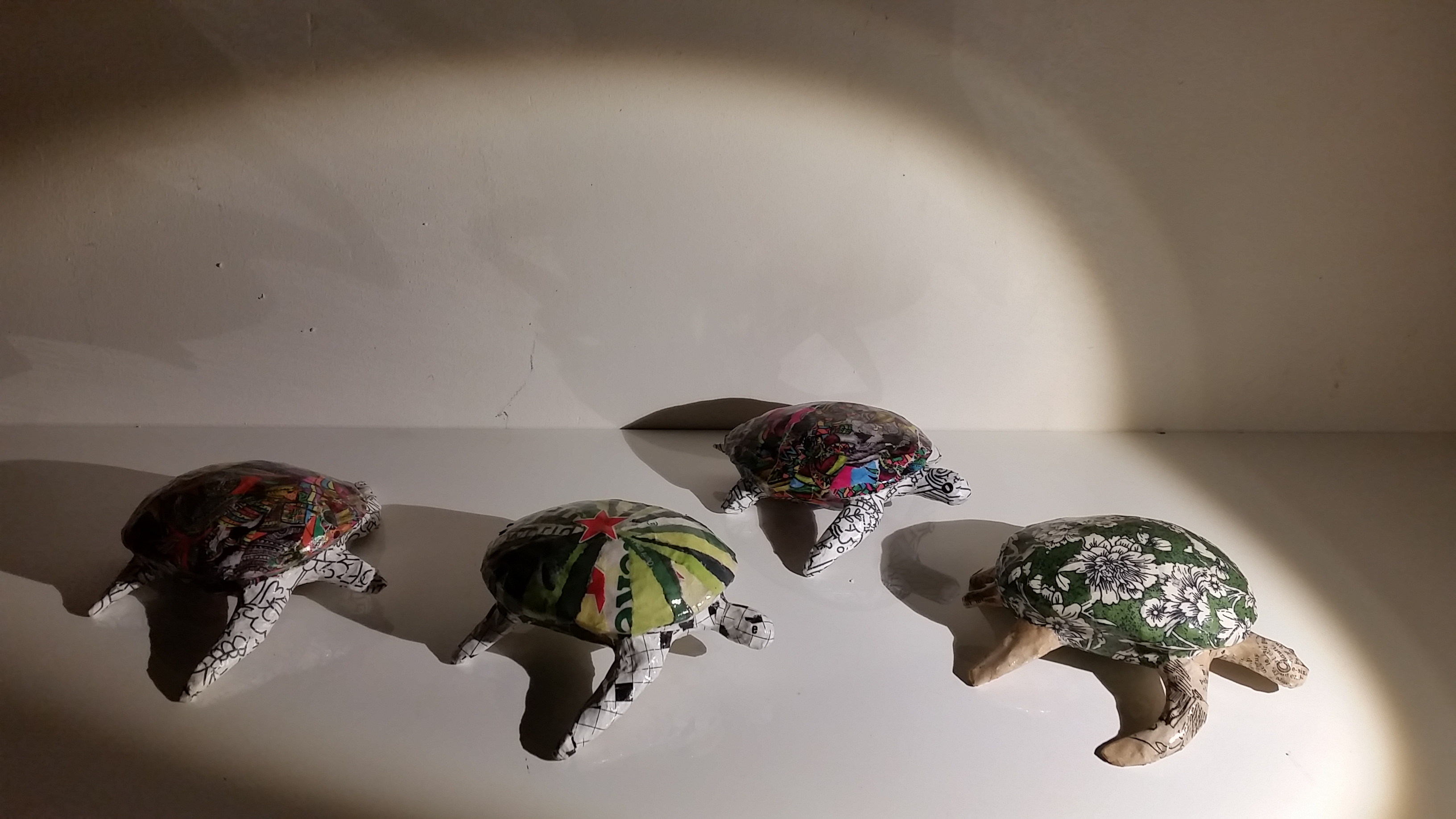 tortues en papier Camille Jacobs