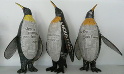Pingouins en papier Camille Jacobs