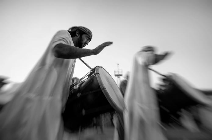 Traditional Drummer of Sharjah UAE