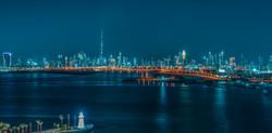 Panorama of Dubai