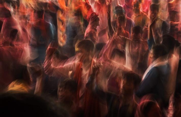 Holi Festival Dancers