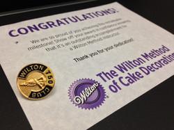 Wilton 750 Club Award presented to Shanika Clement