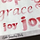 Thumbnail: Transparent Bible Journaling Word Stickers ~ Bold Pink Watercolor