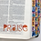 Thumbnail: Transparent Bible Journaling Word Stickers ~ Orange Watercolor