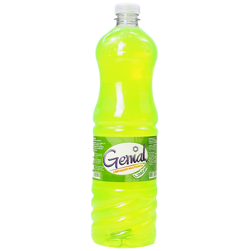 Genial limón limpiador multiusos 1 L.