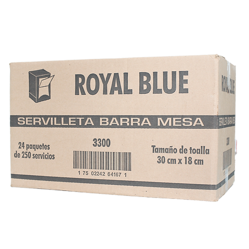 Caja Servilleta Barramesa Royal Blue