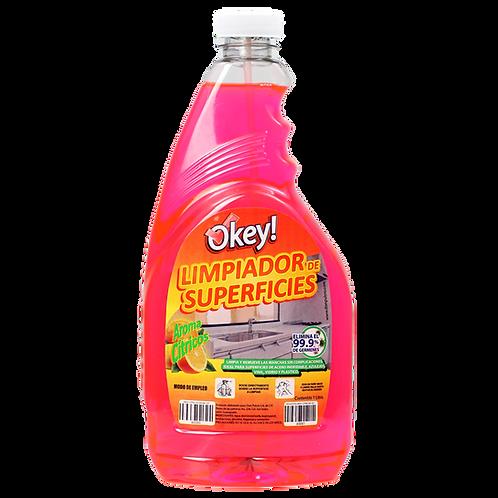 Repuesto Okey cítricos 1 L.