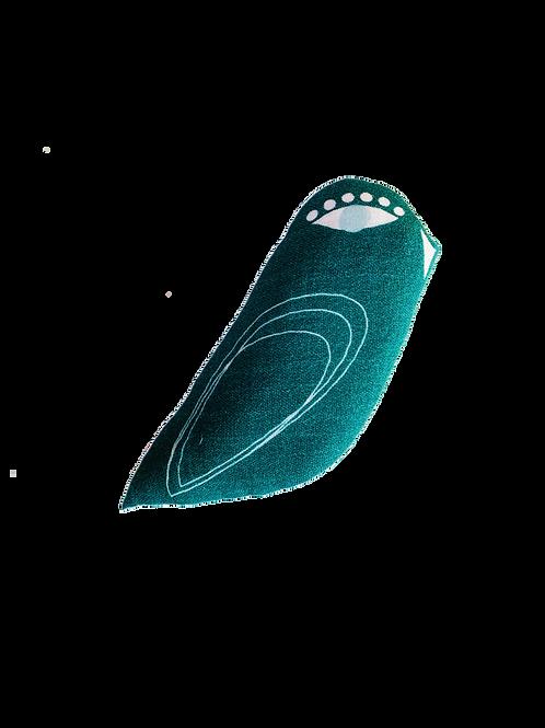 Hochet oiseau - petite taille - Green