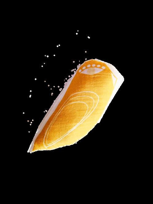 Hochet oiseau - petite taille - Yellow
