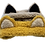 Thumbnail: Chaton headband crème et noir