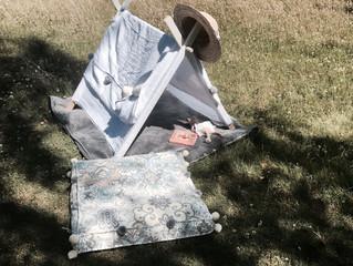 DIY : une tente d'été pour mon bébé !