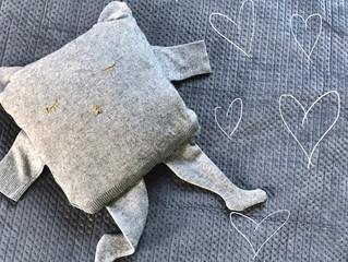 Recyclage : créer votre doudou d'amour !