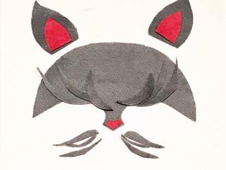 """Halloween : créer votre masque """"Minou-Minou"""" pour moins de 5 euros !"""