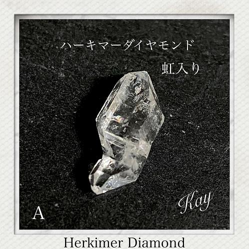 ハーキマーダイヤモンド A 虹入り