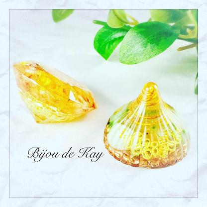 オルゴナイト ダイヤモンド コロン Bijou de Kay
