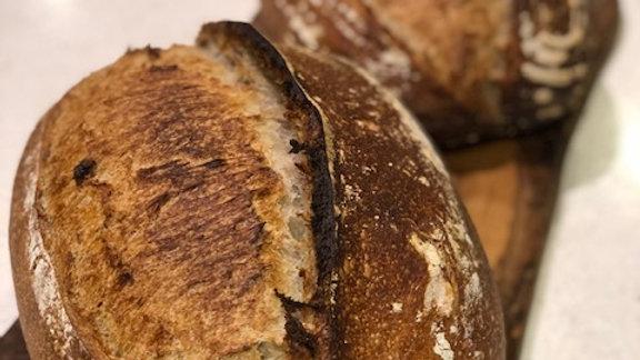 Taller de pa , el meu primer pa de Massa Mare amb Ayose