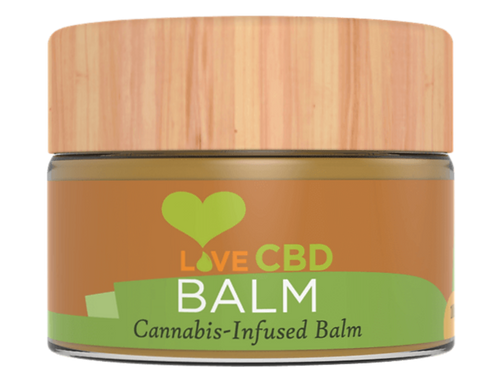 Love CBD Balm (The 100g jar contains 1000mg of CBD)