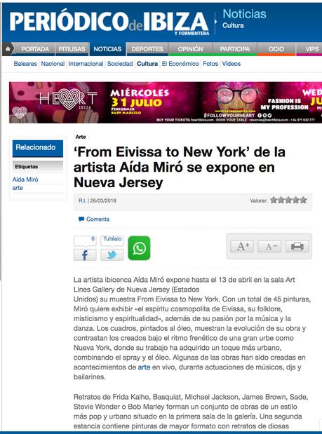 Periodico de Ibiza. March 26, 2018