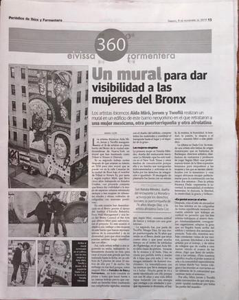 Full page Periodico Ibiza November 9, 2019