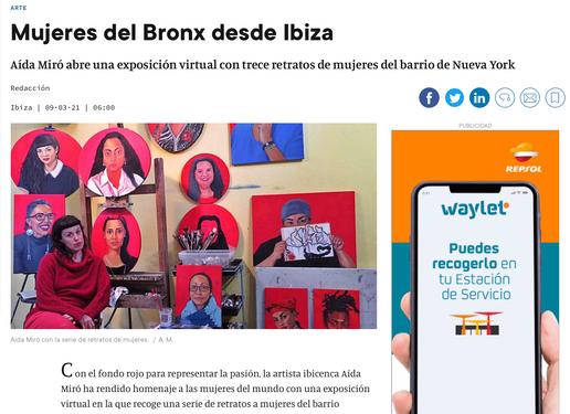 Diario de Ibiza. March 9, 2021.