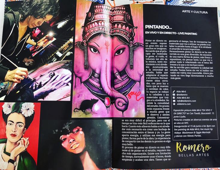 Revista AARTI Agosto Ibiza 2018