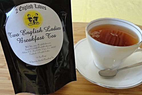 Two English Ladies Irish Breakfast Tea