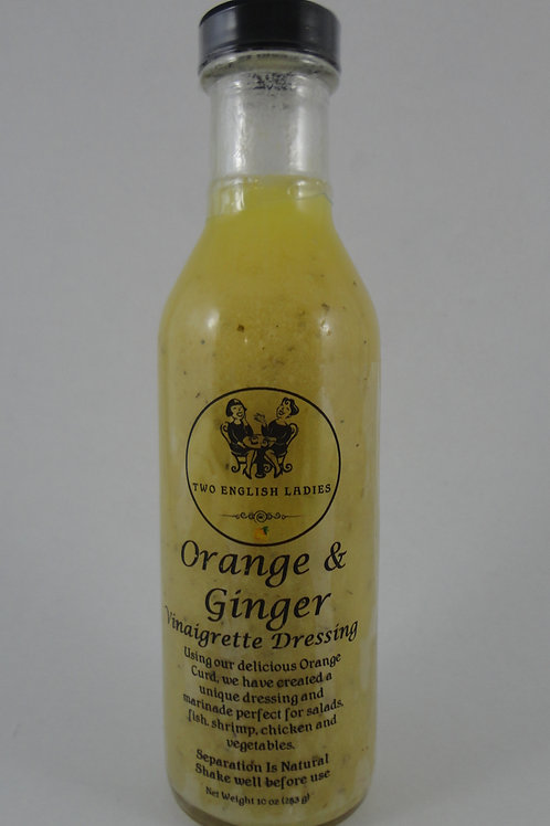 Orange Ginger Vinaigrette