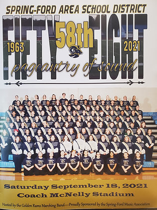 58th Pageantry of Sound Program Book