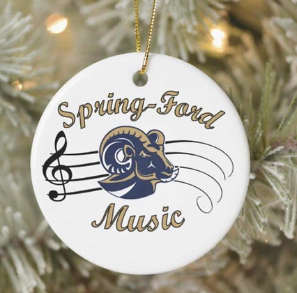 Spring-Ford Music Ornament