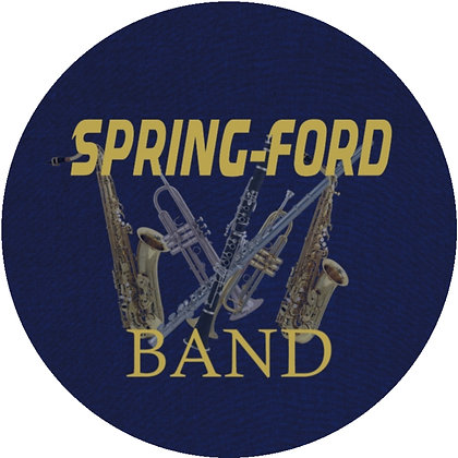 Spring-Ford Band Luggage Tag / Ornament