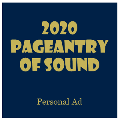 Pageantry of Sound Personal Ad