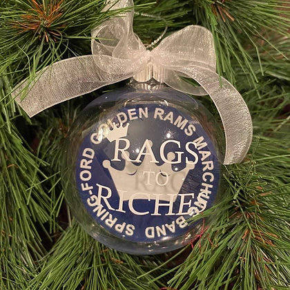"""""""Rags to Riches"""" Ornament"""
