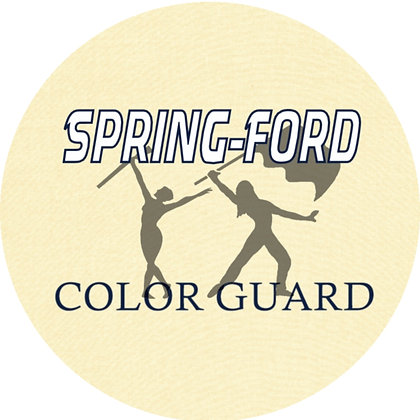 Spring-Ford Color Guard Luggage Tag / Ornament