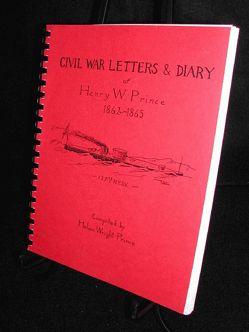 Civil War Letters & Diary of Henry Prince, 1862-65
