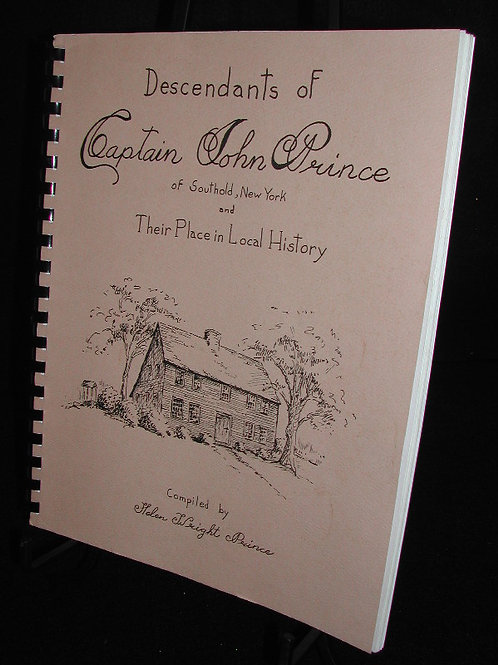 Descendents of Captain John Prince of Southold