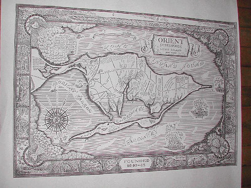 B&W Map of Orient