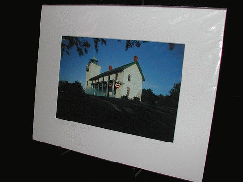 Matted Local Photographs 11x14