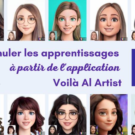 Stimuler les apprentissages grâce à l'application Voilà AI Artist