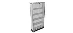 WALL FREE STANDING UNIT