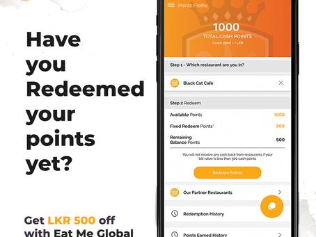 Eat Me Global - List of Partnered Restaurants on the app (Feb 20. 2020)