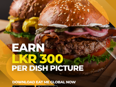 Now you can Earn and Redeem with Eat Me Global