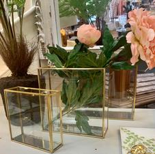 Modern Glass Vases - 3 Sizes