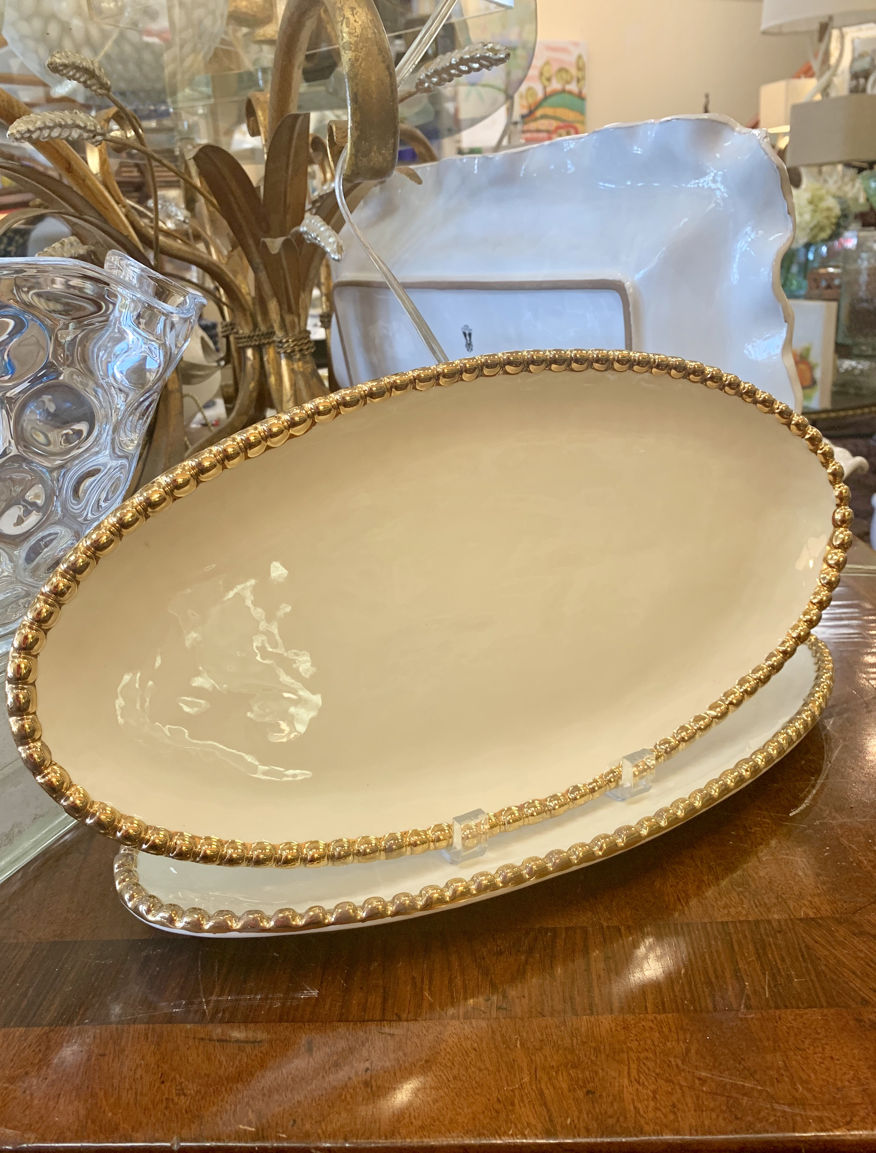 Studio B Oval Serving Tray