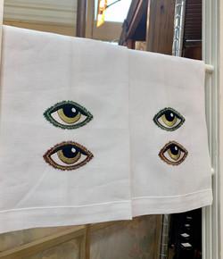 Evil Eye Hand Towels