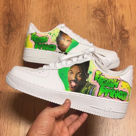 Fresh Prince Custom by Sneaker Surgery