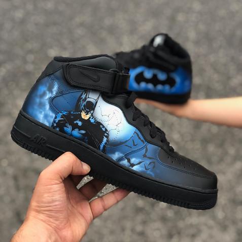 Batman Comic Custom by Sneaker Surgery