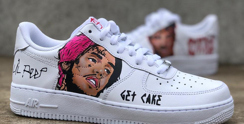 Air Force 1 Lil'Peep x XXXTentacion Tribute Custom