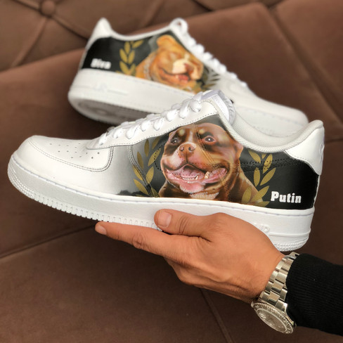 Dog Portrait 2 by Sneaker Surgery